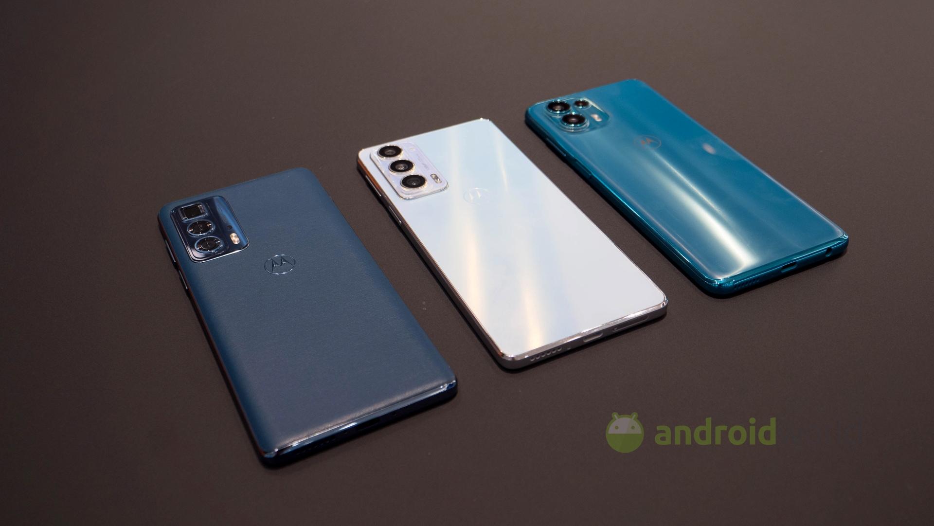 La nuova famiglia Motorola Edge 20 è uf …