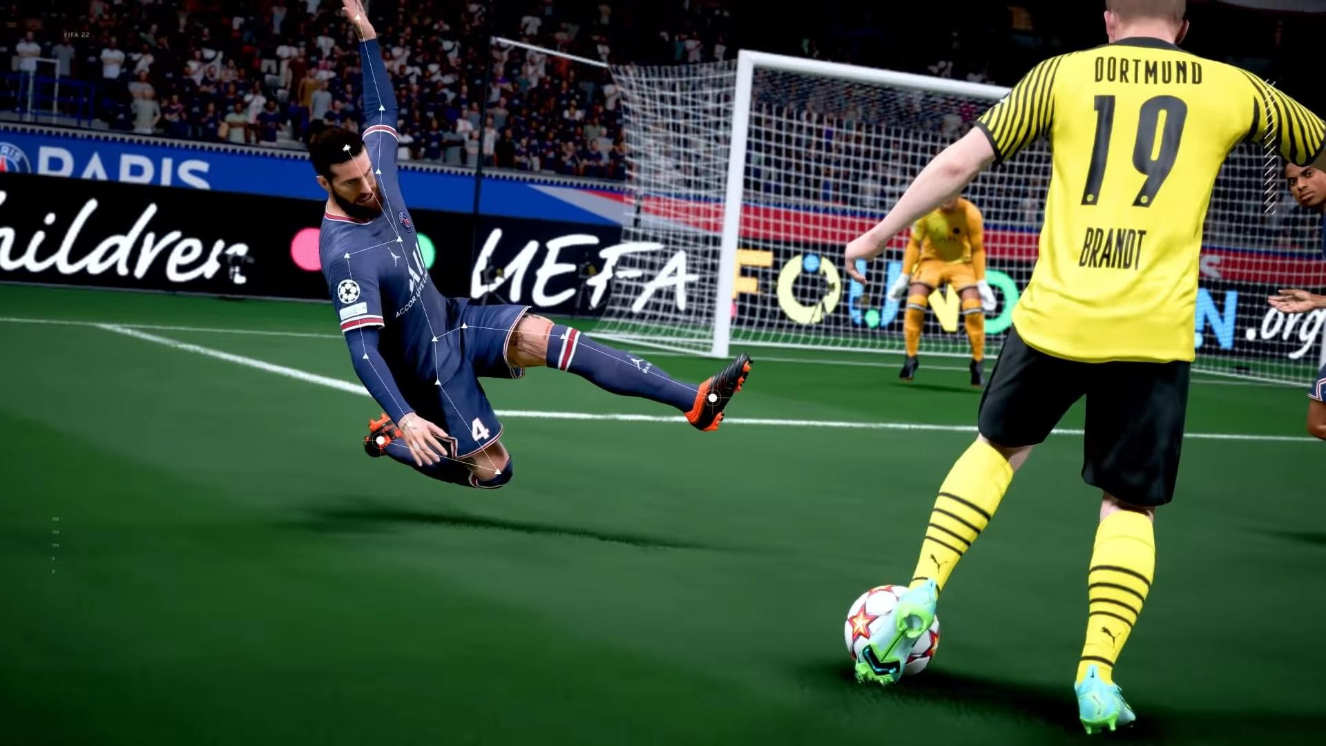 Il gameplay di FIFA 22 appena svelato da EA (video)