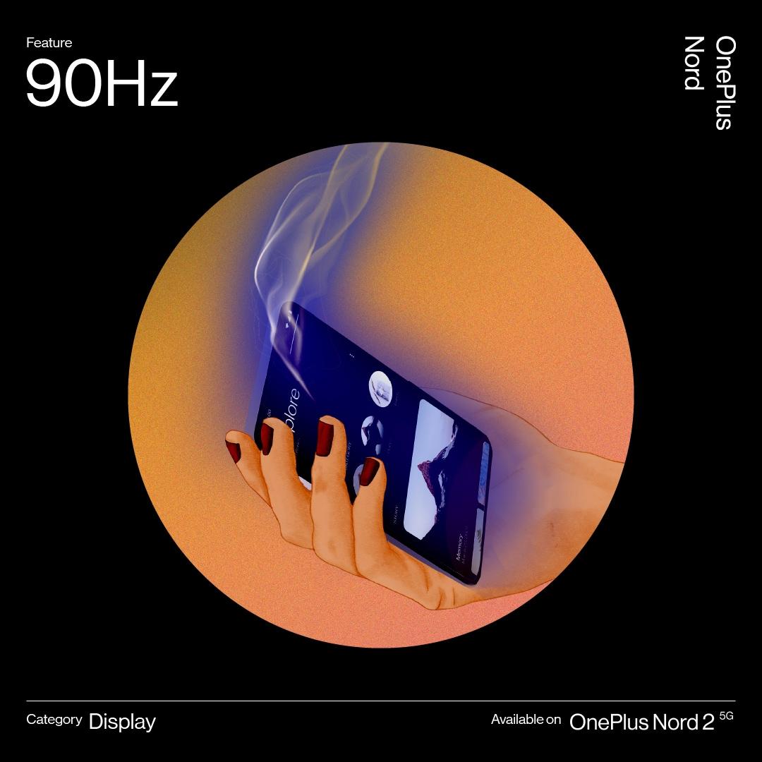Le immagini ufficiali di OnePlus Nord 2: design e colorazioni senza più segreti (foto)