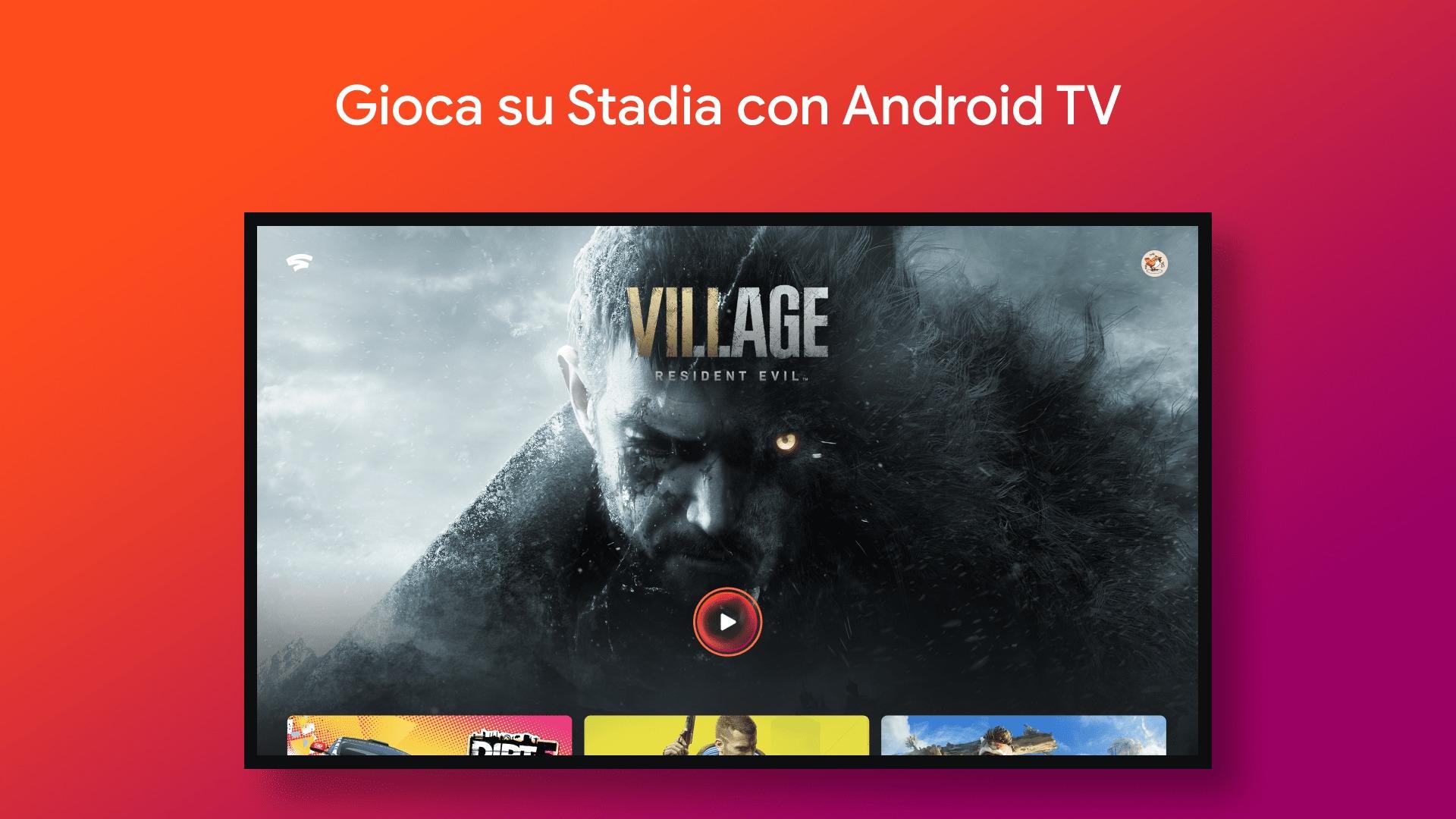 Stadia per Android TV continua a fare incetta di utenti: ci avete giocato?