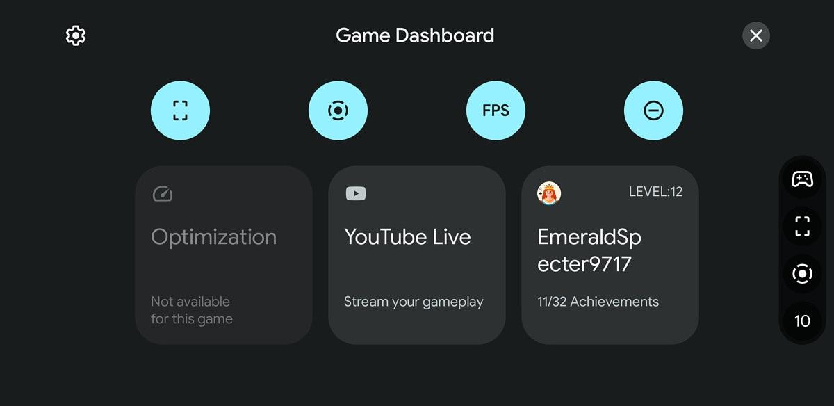 Game Dashboard e widget di gioco arriveranno su Google Play Games con Android 12 (foto)
