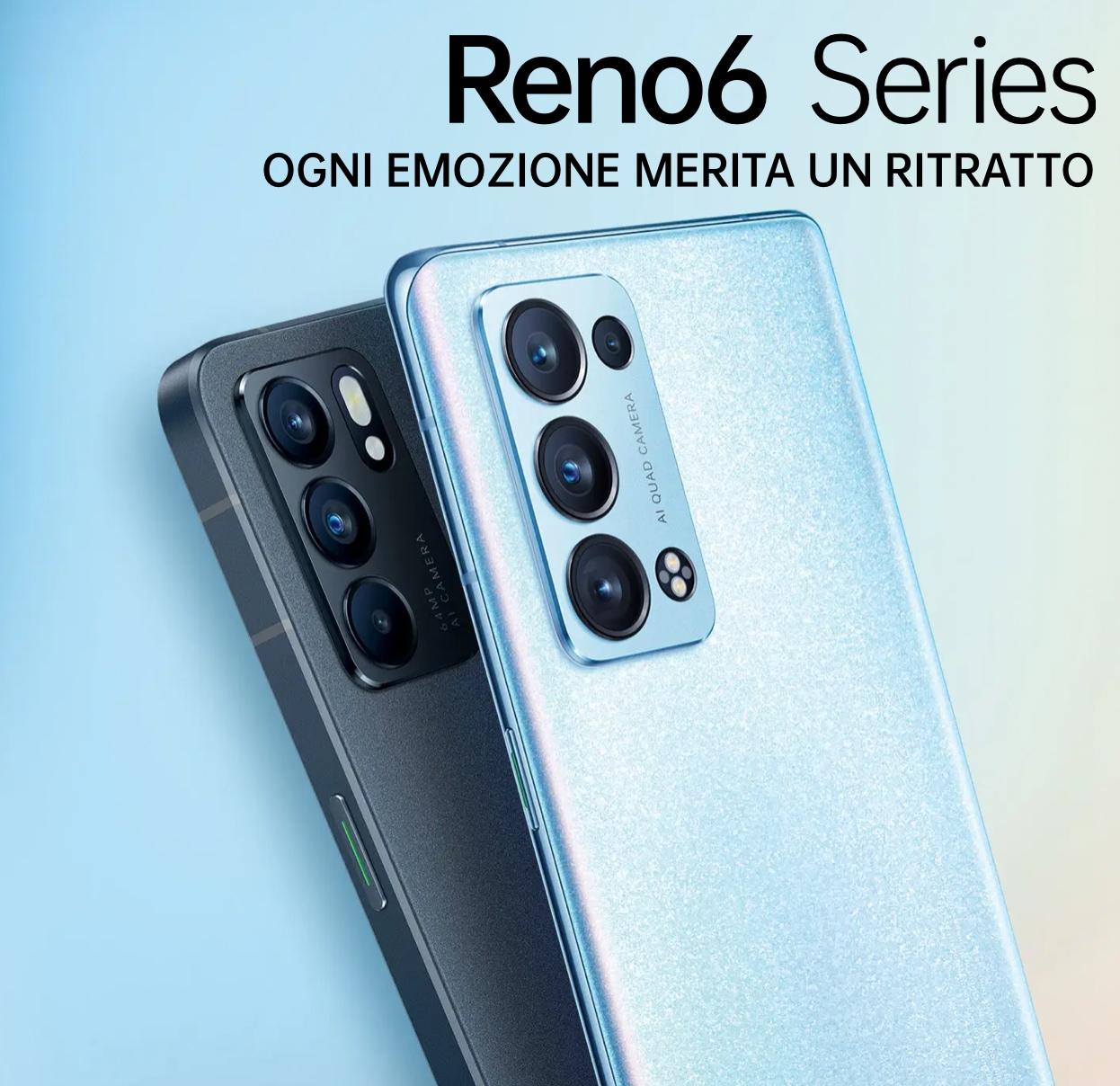 Ultimi dettagli OPPO Reno 6 Series: rivoluzione del video ritratto e una grande location ospiterà l'evento di lancio