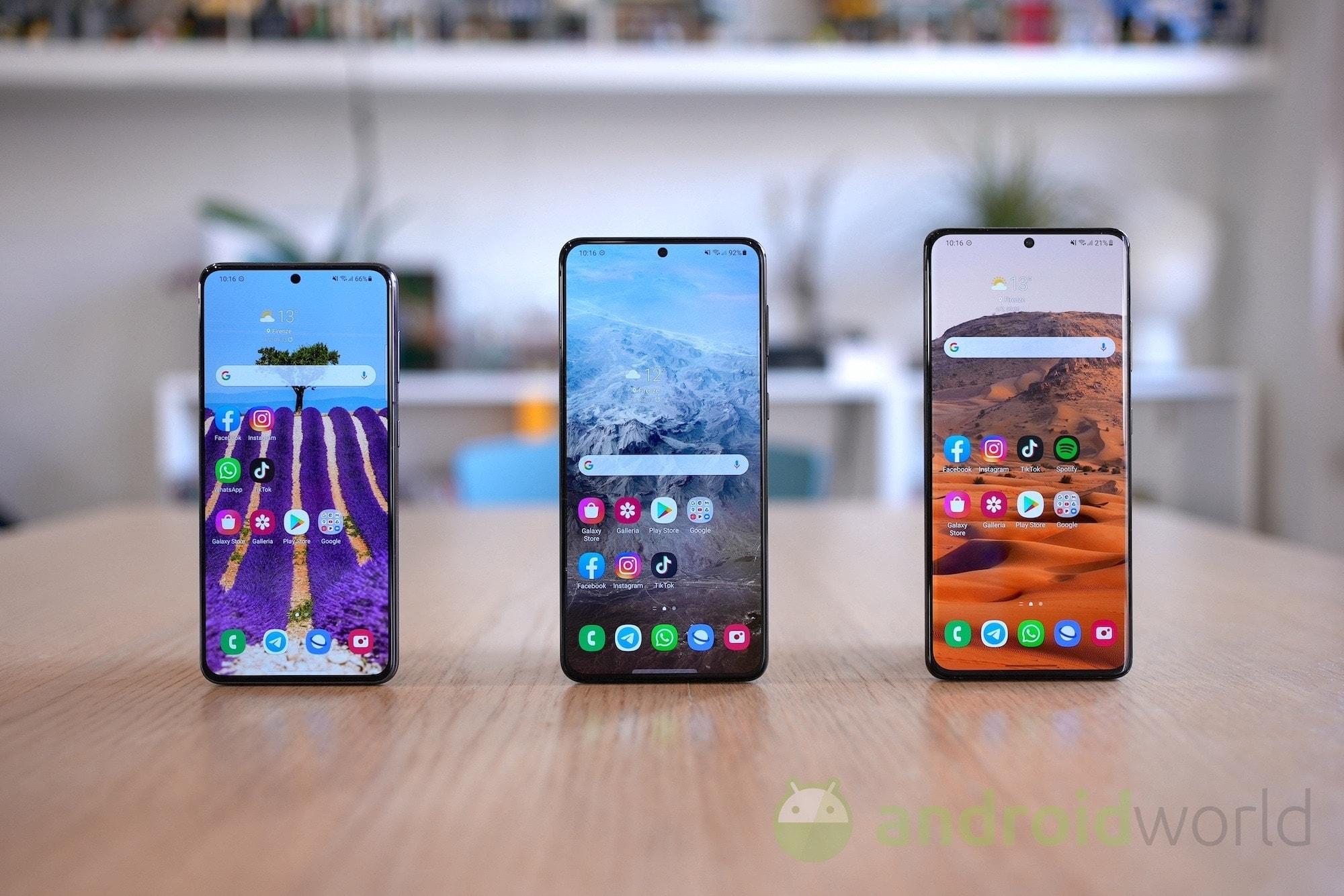 La serie Galaxy S21 si aggiorna e arriva la One UI 3.1.1: ecco cosa cambia (foto)