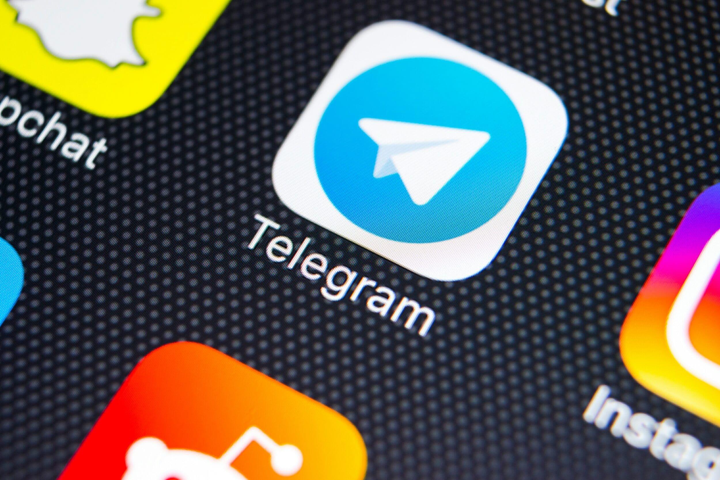 Complimenti Telegram, ora anche tu sei n …