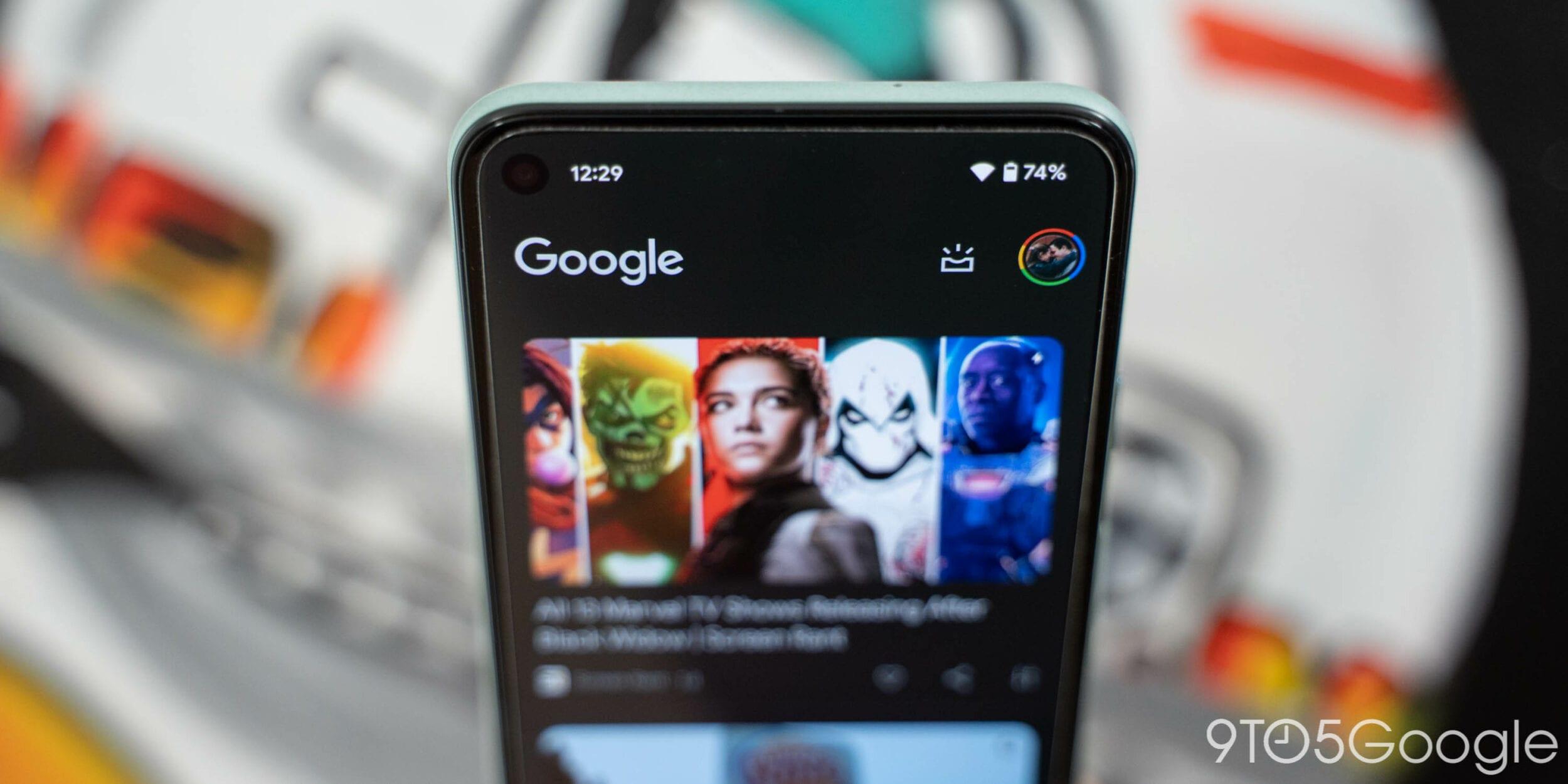 Il Material You arriva sull'ultima beta dell'app Google che si colora di nuove tinte pastello (foto)