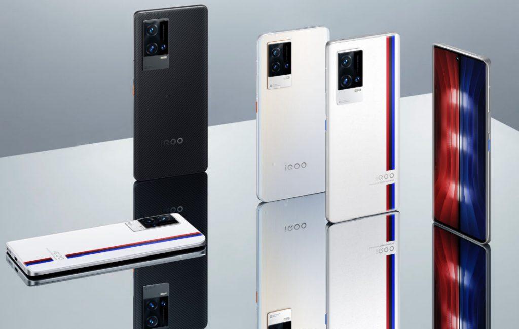 iQOO annuncia in Cina iQOO 8 e 8 Pro: Snapdragon 888+, display a 120Hz e fino a 12GB di RAM (foto)