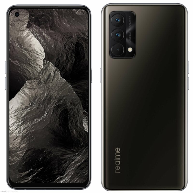 official press renders of realme gt master edition black color option 754