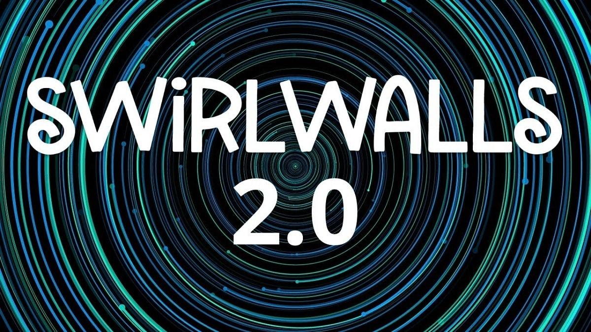 SwirlWalls 2.0 rende lo sfondo del vostr …